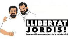 Jordi Sànchez i Jordi Cuixart, presidents de l'ANC i d'Òmnium Cultural