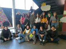 Alumnes de l'Institut Els Roures participants del Servei Comunitari
