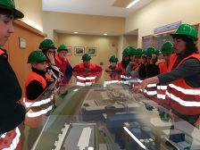 Visita al Centre Integral de Valorització de Residus del Maresme