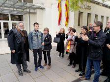 L'alcalde de Dosrius i regidors de l'Ajuntament fan costat al dosriuenc Òscar Morros en la seva declaració judicial pels fets de l'1 d'octubre