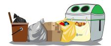 Nou sistema de recollida de residus a Dosrius, Can Massuet i Canyamars