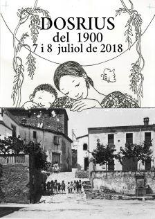 Cartell de Dosrius del 1900
