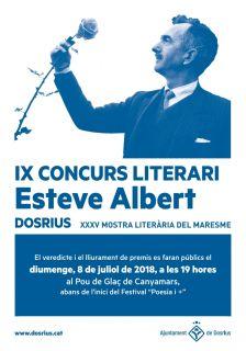 Lliurament de premis de l'IX Concurs Literari Esteve Albert