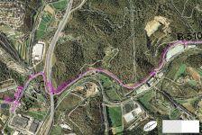 La xarxa es desplegarà al voral de la carretera B-510 que connecta fins al municipi