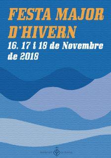 Cartell de la Festa Major d'Hivern 2018