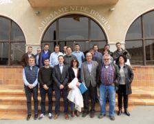Fotografia de família dels càrrecs electes de la riera